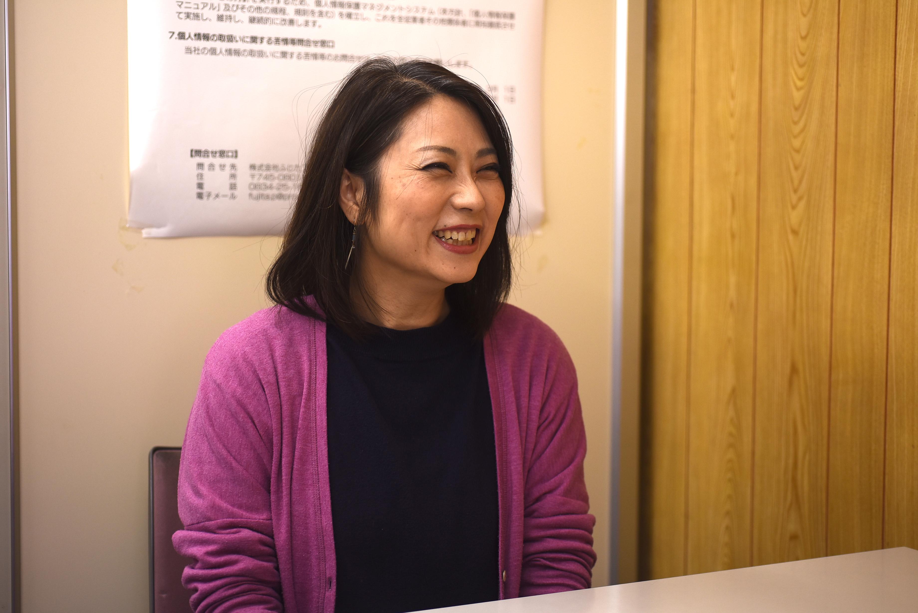 吉田 雅美さん(株式会社ふじたプリント社)