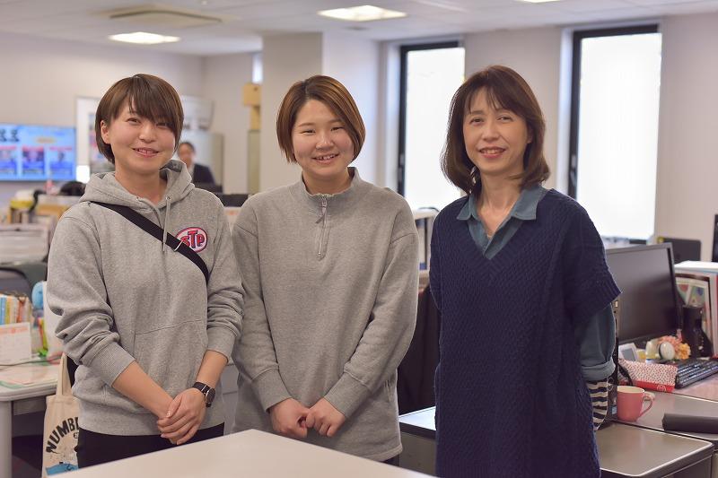 岡田さん、竹本さん、木戸さん(株式会社KRYプロモーション)